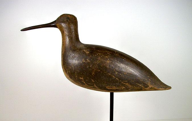 Antique Yellowlegs Shorebird Decoy Joe King New Jersey 19th century